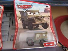 DISNEY CARS SARGE ORIGINAL SERIES NO LOGO CARD