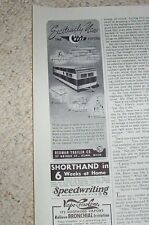 1950 vintage ad - New Moon Mobile Home Redman Trailer Alma Michigan PRINT ADVERT