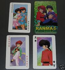 Ranma 1/2 ~ Playing Cards