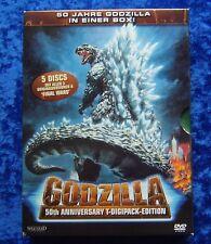 Godzilla 50 Jahre mit allen 3 Originalversionen & Final Wars, 5 DVD Box