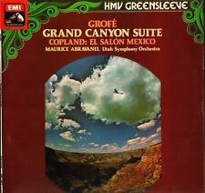 ESD 7073 ABRAVANEL grofe grand canyon suite/copland el salon mexico LP PS EX+/EX
