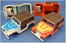 2pc 1980 Aurora AFX G+ HO Jeep Renegade CJ-7 Wide Body Pair Matched Set Unused!