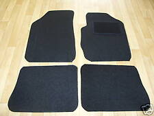 Renault Megane Scenic (1996-03) Fully Tailored Car Mats Black