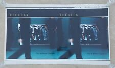 "BEE GEES ""THIS IS WHERE I CAME IN"" PRODUCTION POSTER MYLAR/PLASTIC"