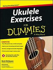 Ukulele Exercises For Dummies by Wood, Alistair, McQueen, Brett, NEW Book, FREE