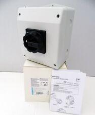 Siemens 3LD2165-3VB51 3LD2 165-3VB51 E: 02 Hauptschalter 6-Pol. -unused/OVP-