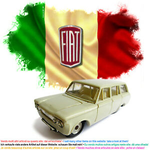 Fiat 1300 famigliare, Politoys n° 68 - 1963, scala 1:41, made in Italy.