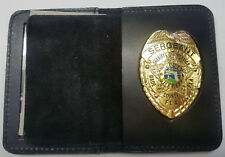 Miami-Dade Police (Florida) All-Ranks Shield/ID Book Wallet (Badge Not Included)