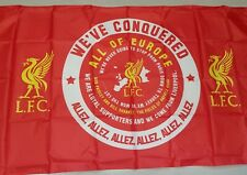 Liverpool Official Allez Allez Flag featuring the famous song - 5 ft x 3 ft