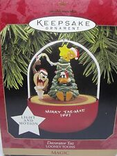 1997 HALLMARK ORNAMENT DECORATOR TAZ, LOONEY TUNES