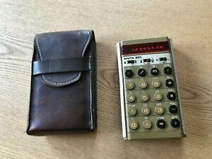 Vintage 1970's Retro ANITA 851 Red LED Engineering / Conversion Calculator