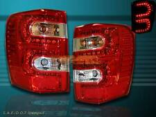 99-04 JEEP GRAND CHEROKEE TAIL LIGHTS LED RED 99 00 01 02 03 04