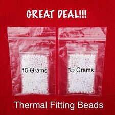 THERMAL FITTING BEADS (Two 15 Gram Bags) for INSTANT SMILE & SECURE SMILE TEETH