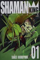 JAPAN Hiroyuki Takei manga: Shaman King Kanzenban vol.1