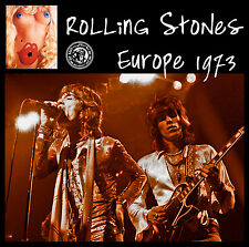 THE ROLLING STONES with Mick Taylor, LIVE in Europe 1973, on CD