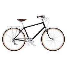 Electra Ticino 20D Large Herren Fahrrad Schwarz TRK City Stadt Rad Retro Mens