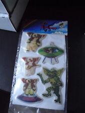 Vintage 1980s Gremlins Puffy Sticker Pack NIP