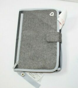 Munchkin Go Change , portable gray with blue trim changing pad, new