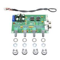NE5532 Stereo Pre-amp Preamplifier Tone Audio 4 Channels Amplifier Board New