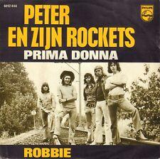"""PETER & ZIJN ROCKETS– Prima Donna / Robbie (1974 NEDERPOP VINYL SINGLE 7"""")"""