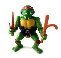 Soft Head Raphael Vintage TMNT Ninja Turtles Action Figure 1988 Playmates Raph