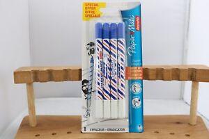 Paper Mate Super Magic+ Fine Blue Eradicator Ballpoint Pen, UK Seller