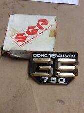 1980-1981 SUZUKI GS750E GS 750 E FRAME COVER EBMLEM NOS OEM #68131-45400