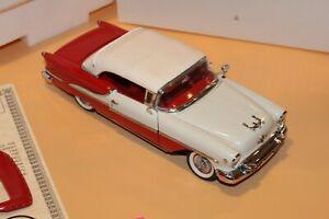 A4 Danbury Mint 1955 Oldsmobile Super 88 Convertible 1:24 Red COA