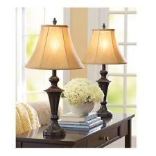 Table Lamps For Living Room Set 2 Vintage Desk Lamp End Tables Bedroom Lighting