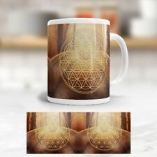 "Tasse ""Blume des Lebens"" - Lebensblume - Kaffeetasse - Becher - Flower of Life"