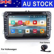 Car  Stereo DVD Player GPS WiFi Touch Video BT Radio Android 8.1 for Volkswagen
