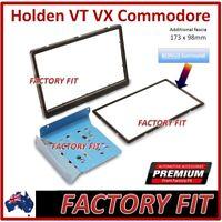 -For Holden Commodore VT VX UTE Fascia Double Din Stereo Facia DVD GPS Car Black