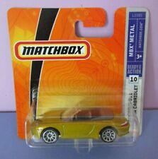 Matchbox - 2007 MB #10 - Porsche 911 Carrera Cabriolet - Gold