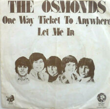 """7"""" 1973 NL-PRESS RARE- ! THE OSMONDS : One Way Ticket To Anywhere / MINT-?"""