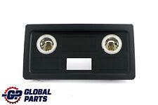 BMW 5 Series E60 E61 Rear Centre Console Cigarette Lighter Trim Black 9117364