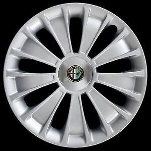 """Alfa Romeo Mito Copricerchio singolo coppa ruota 16"""" cod. 3261 nuovo"""