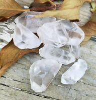 1 lb Natural Clear Quartz Point Crystal Raw Gemstone Reiki Grid Jewelry Healing