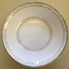 Le Cadeaux Provence Solid White Cereal Bowls MELAMINE Set Of 4