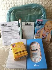 Baby Deluxe 6pc Kit Air Travel Clear Case Plus Cottonelle Cloths