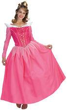Aurore Prestige Costume Adulte Femmes Couchage Beauté Princesse Disney Robe