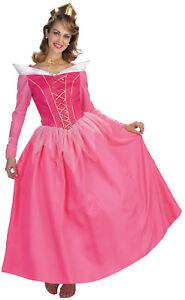 Aurora Prestige Adult Costume Women's Sleeping Beauty Disney Princess Dress Gown