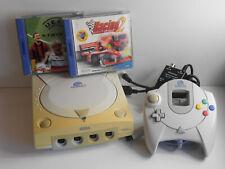 Sega Dreamcast + Controller + Kabel + 2 Spiele