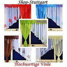 (4,49€/m) Store Fertiggardine aus Voile Gardine Voile  3,5m /1,5m Gardine  TOP