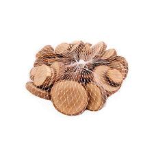Naturholz Mini Scheiben 2-6cm in einer Tasche