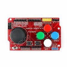 1x Gamepads JoyStick Keypad Shield For Arduino nRF24L01 Nokia 5110 LCD I2C