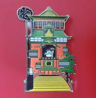 Spirited Away Pin House Japanese Movie Enamel Retro Metal Brooch Badge Lapel