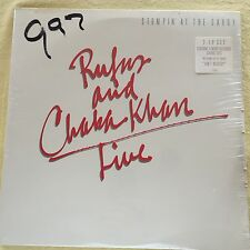 RUFUS - Rufus and Chaka Khan Live -  SEALED VINYL LP w hype sticker1983 no bar