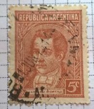 Argentina stamps - Mariano Moreno (1778-1811)  1939  5 centavo