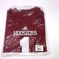 NWT Adidas NCAA Indiana Hoosiers #1 Football Jersey Youth Kids Medium