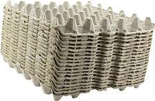 20 Pcs Egg Cartons Paper Trays Flats Hatching 30 Ct Eggs Crafts